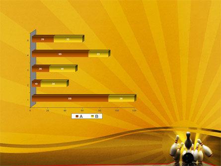 Fallen Skittles PowerPoint Template Slide 11