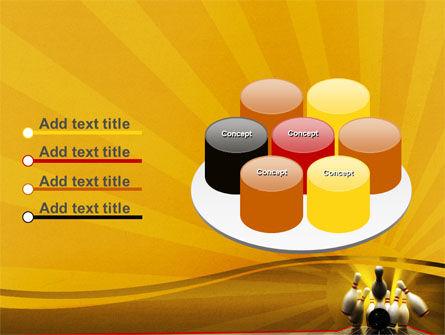 Fallen Skittles PowerPoint Template Slide 12