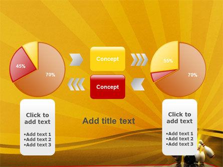 Fallen Skittles PowerPoint Template Slide 16