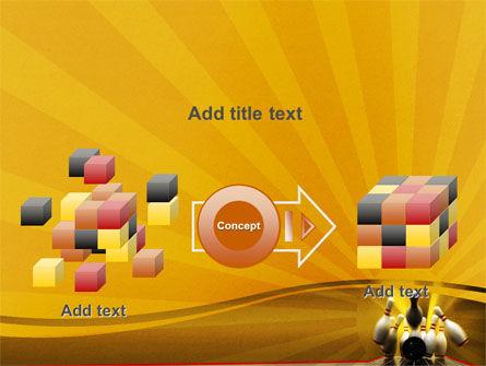 Fallen Skittles PowerPoint Template Slide 17