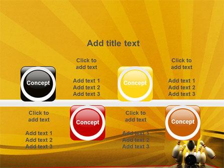 Fallen Skittles PowerPoint Template Slide 18