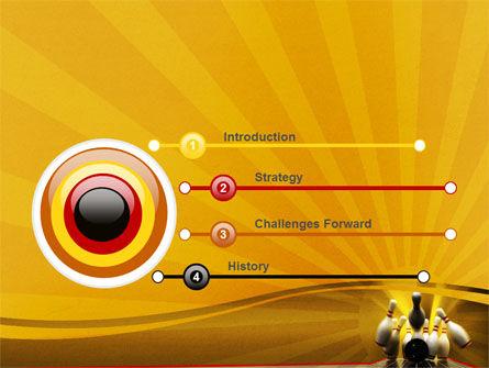 Fallen Skittles PowerPoint Template Slide 3