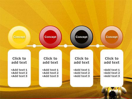 Fallen Skittles PowerPoint Template Slide 5