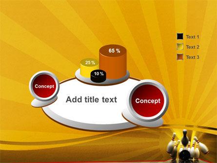 Fallen Skittles PowerPoint Template Slide 6