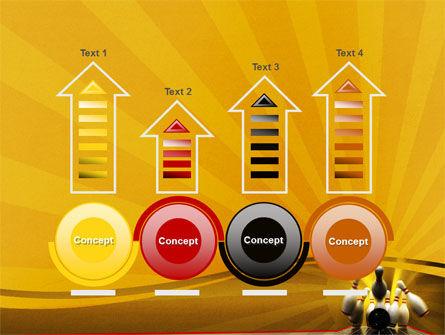 Fallen Skittles PowerPoint Template Slide 7