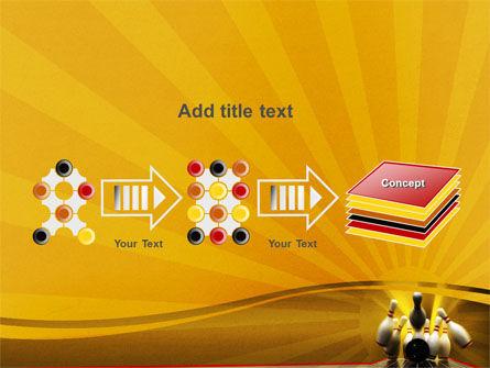 Fallen Skittles PowerPoint Template Slide 9