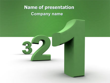 Education & Training: Countdown PowerPoint Template #06515