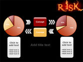 Word Risk In Fire PowerPoint Template#16
