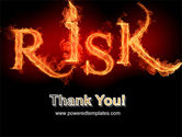 Word Risk In Fire PowerPoint Template#20