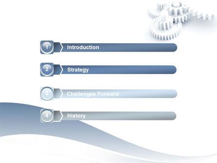 Cogwheel PowerPoint Template, Slide 3, 06517, Utilities/Industrial — PoweredTemplate.com