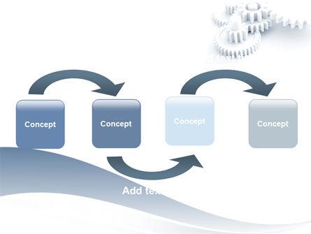 Cogwheel PowerPoint Template, Slide 4, 06517, Utilities/Industrial — PoweredTemplate.com