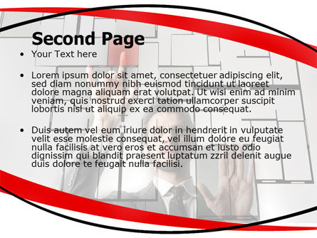 Architect on Work PowerPoint Template Slide 2
