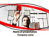 Consulting: Architekt auf arbeit PowerPoint Vorlage #06518