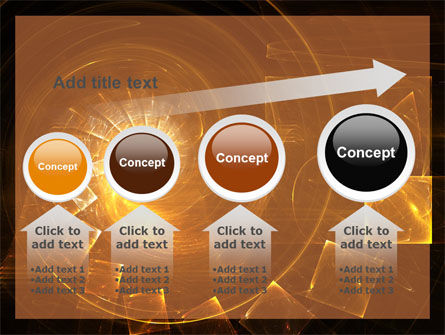 Abstract Whirlpool PowerPoint Template Slide 13