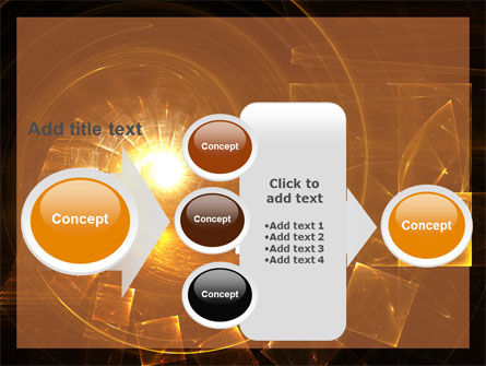 Abstract Whirlpool PowerPoint Template Slide 17