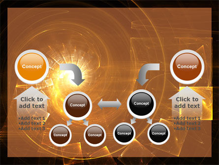 Abstract Whirlpool PowerPoint Template Slide 19