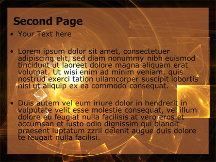Abstract Whirlpool PowerPoint Template, Slide 2, 06525, Abstract/Textures — PoweredTemplate.com