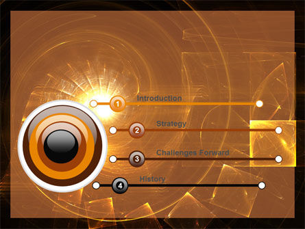 Abstract Whirlpool PowerPoint Template, Slide 3, 06525, Abstract/Textures — PoweredTemplate.com