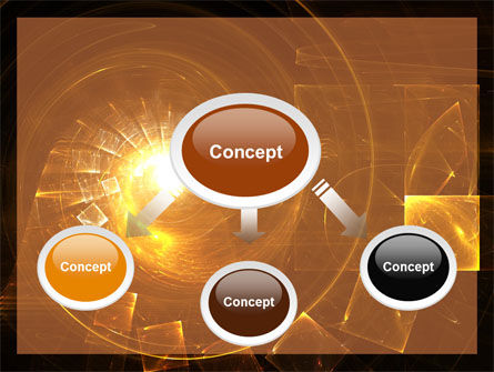 Abstract Whirlpool PowerPoint Template, Slide 4, 06525, Abstract/Textures — PoweredTemplate.com