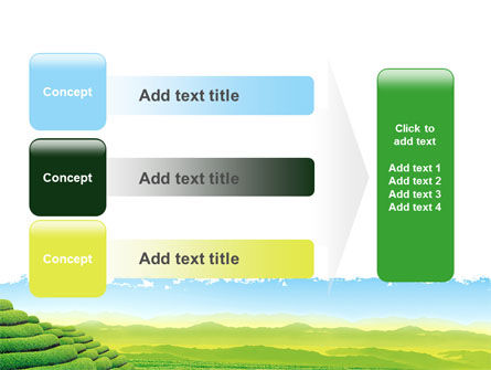 Tea Plantation PowerPoint Template Slide 12