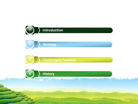 Tea Plantation PowerPoint Template Slide 3
