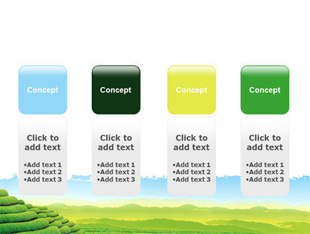 Tea Plantation PowerPoint Template Slide 5