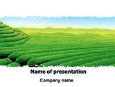 Agriculture: Tee plantage PowerPoint Vorlage #06526