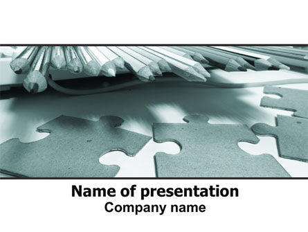 Jigsaw PowerPoint Template, 06532, Business — PoweredTemplate.com