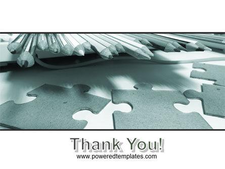 Jigsaw PowerPoint Template Slide 20