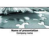 Business: Jigsaw PowerPoint Template #06532