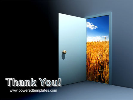 Open Door To The World PowerPoint Template Slide 20