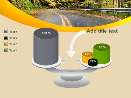 Autumn Road PowerPoint Template Slide 10