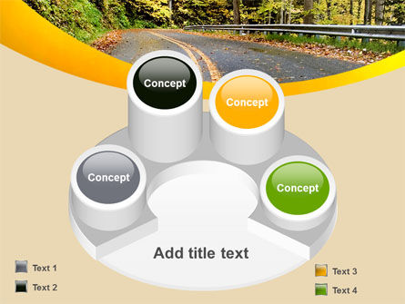 Autumn Road PowerPoint Template Slide 12