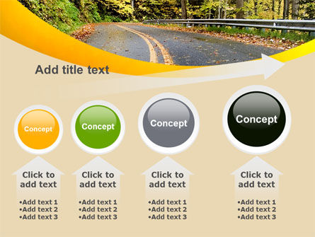 Autumn Road PowerPoint Template Slide 13