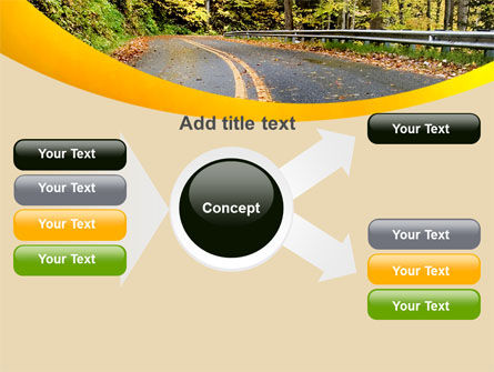Autumn Road PowerPoint Template Slide 14