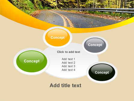 Autumn Road PowerPoint Template Slide 16