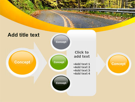 Autumn Road PowerPoint Template Slide 17