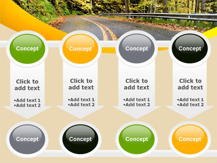 Autumn Road PowerPoint Template Slide 18
