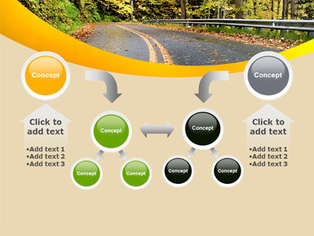 Autumn Road PowerPoint Template Slide 19
