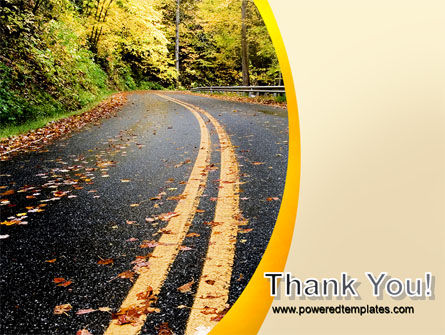 Autumn Road PowerPoint Template Slide 20