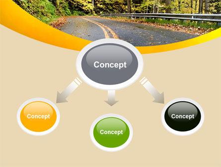 Autumn Road PowerPoint Template, Slide 4, 06536, Construction — PoweredTemplate.com