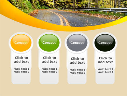Autumn Road PowerPoint Template Slide 5