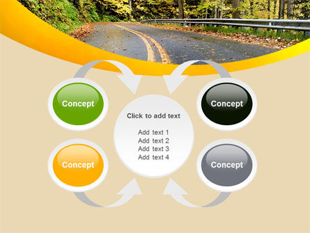Autumn Road PowerPoint Template Slide 6
