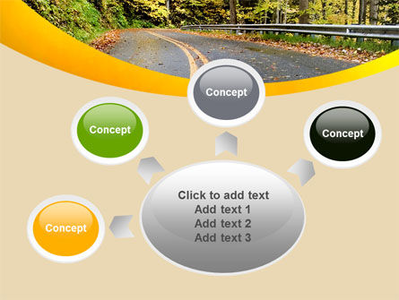 Autumn Road PowerPoint Template Slide 7