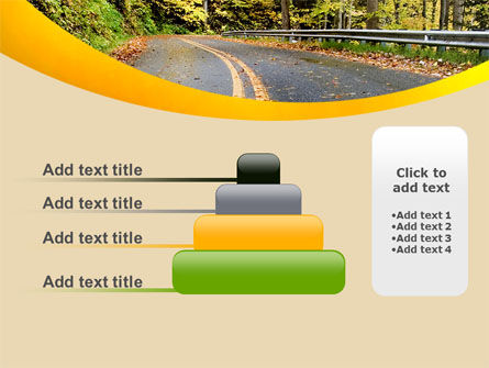 Autumn Road PowerPoint Template Slide 8