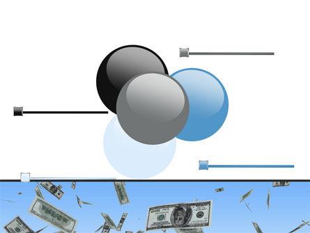 Flying Dollars PowerPoint Template Slide 10