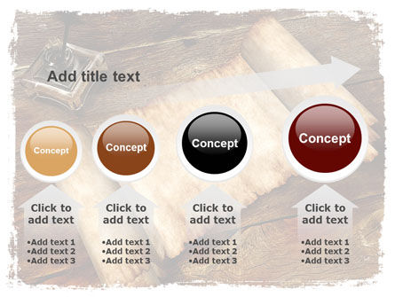 Ancient Scroll PowerPoint Template Slide 13