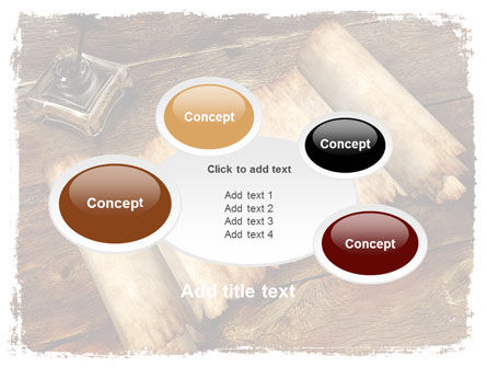 Ancient Scroll PowerPoint Template Slide 16
