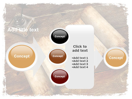 Ancient Scroll PowerPoint Template Slide 17