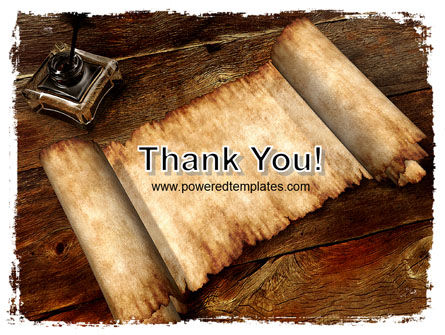 Ancient Scroll PowerPoint Template Slide 20